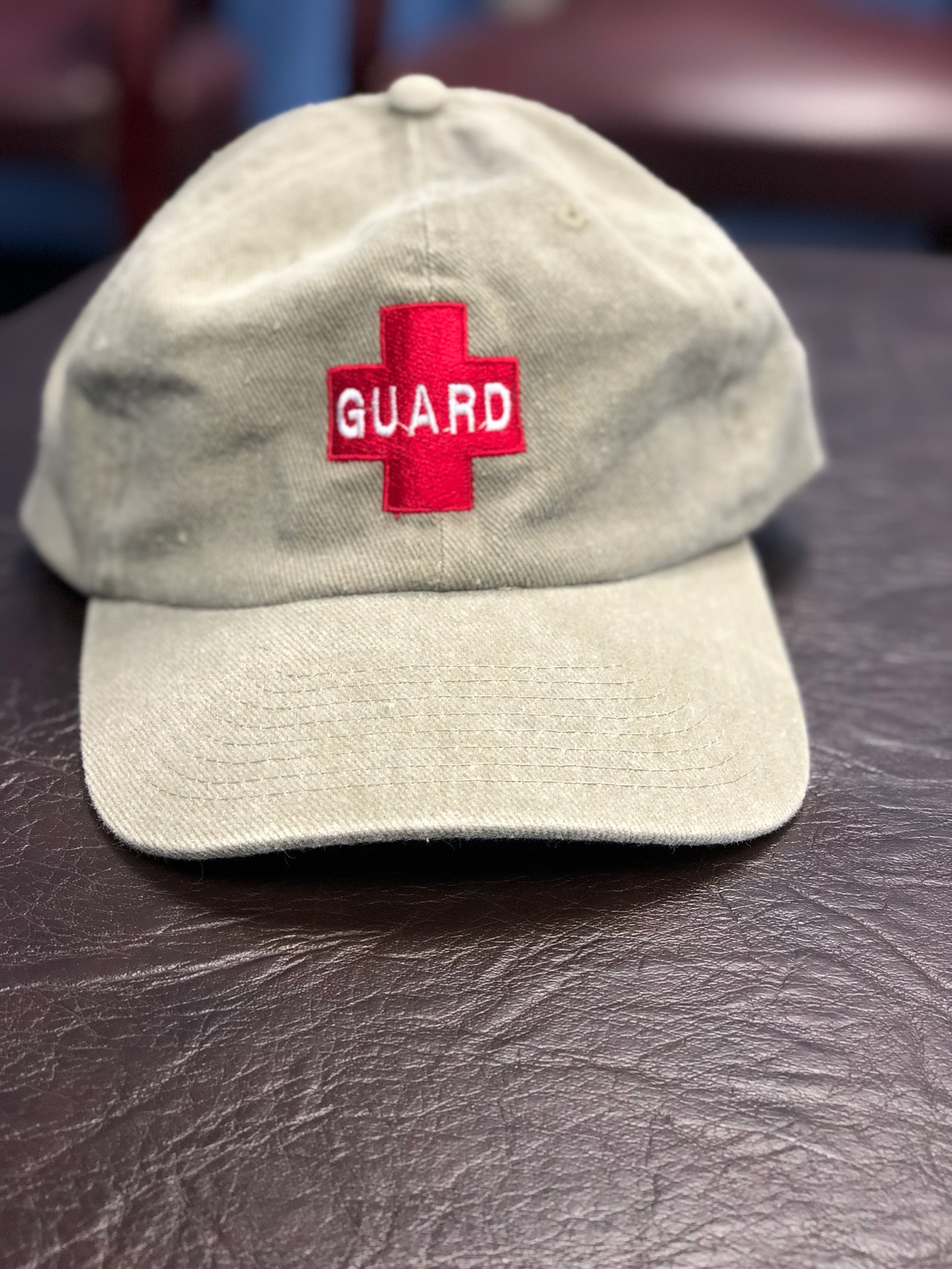 51eff79ae190a9 Lifeguard Baseball Cap   Continental Pools   Commercial and ...